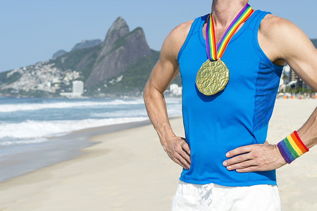 Gay athletes at the 2016 Olympics in Rio